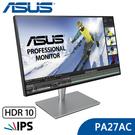 【免運費】ASUS 華碩 PA27AC 27型 2K HDR IPS 專業顯示器 / 純數位輸入 / HDR-10 / 內建喇叭