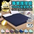 保潔墊床單 3M床包組 台灣製造100%防水 隔尿墊 單人雙人防水床包 防塵墊 床罩
