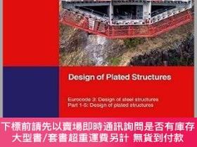 二手書博民逛書店預訂Design罕見Of Plated Structures - Eurocode 3 - Design Of S