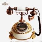 幸福居*麗盛歐式仿古電話機美式複古時尚創意家用固定電話座機TL0236