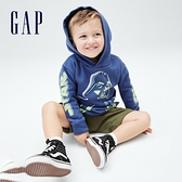 Gap男幼童 Gap x Star Wars星際大戰系列連帽休閒上衣 777573-藍色