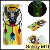 【萌萌噠】三星 Galaxy M11 創意個性夜光款 卡通彩繪保護殼 A11 全包亮面防摔軟殼 手機殼 手機套