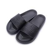 PUMA LEADCAT 一片套式拖鞋 全黑 360263-10 男女款 鞋全家福