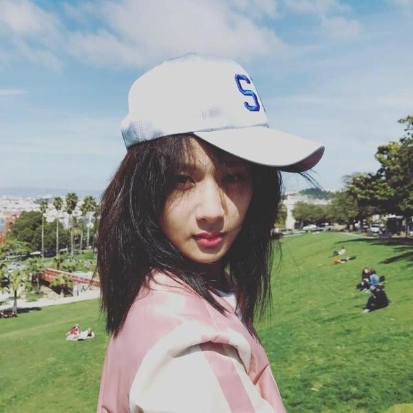 [超豐國際]楊紫微博同款白色棒球帽子韓版夏季外出旅游遮陽帽絲1入