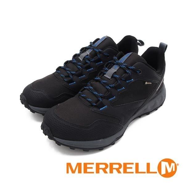 【南紡購物中心】MERRELL(男)ALTALIGHT APPROACH GORE-TEX郊山健行鞋 男鞋-黑藍(另有灰藍)