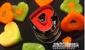 壓花磨具 不銹鋼彈簧壓花模水果造型器餅乾模具笑臉愛心切花模水果拼盤工具   傑克型男館