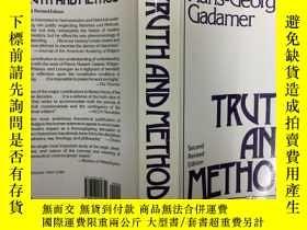 二手書博民逛書店Truth罕見and Method 伽達默爾:真理與方法,198