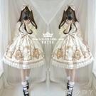 蘿莉塔套裝仙女兒童洛麗塔洋裝童lolita日常洋裝公主中袖小女孩 蘿莉新品
