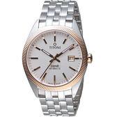 TITONI宇宙系列摩登經典機械腕錶  878 SRG-606 玫瑰金