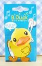 【震撼精品百貨】B.Duck_黃色小鴨~耳機捲線器-大頭造型