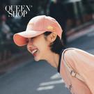 Queen Shop【07020584】休閒字母立體刺繡撞色棒球帽 兩色售*現+預*
