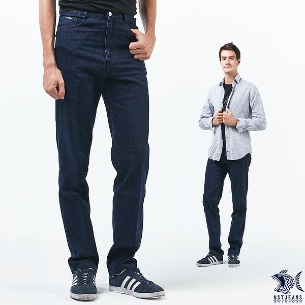 【NST Jeans】斑斕蘭嶼藍 秋冬單寧男褲(中腰) 390(5646) outlet款 台製 紳士 男