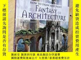 二手書博民逛書店【英文原版】How罕見to Draw and Paint Fan