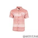 United by Blue 男棉麻短袖襯衫 101-040 ridgerunner / 城市綠洲 (短袖、襯衫、防曬、輕便、美國)