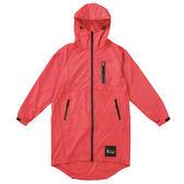 日本KIU 28909 粉紅色 空氣感雨衣/時尚防水風衣 附收納袋(男女適用)