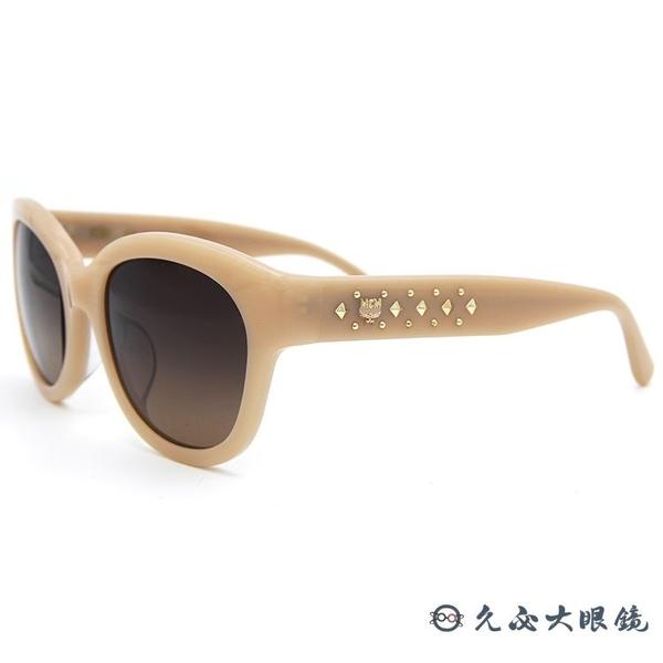 MCM 太陽眼鏡 貓眼 鉚釘 墨鏡 MCM606SA 290 裸膚色 久必大眼鏡