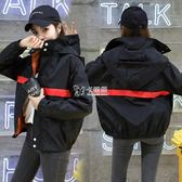 港風棒球服女新款韓版學生bf寬鬆原宿百搭情侶外套潮   卡菲婭