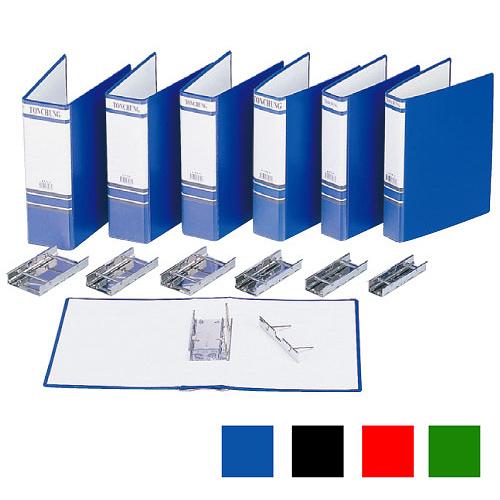 【奇奇文具】同春TON CHUNG TG330 307×240x50mm 藍管型二孔夾