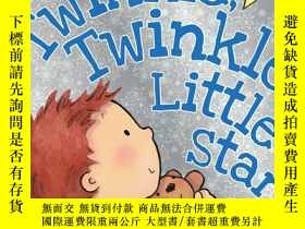 二手書博民逛書店Twinkle罕見Twinkle Little Star (Board Book) 一閃一閃亮晶晶Y44992