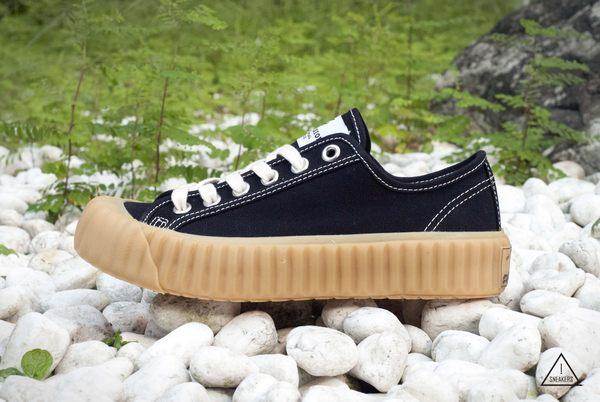 ISNEAKERS EXCELSIOR 餅乾鞋 黑 焦糖底 帆布鞋 CF_M8017CV_BG 女 韓國限定