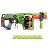 NERF兒童射擊玩具 孩之寶Hasbro 打擊者系列多重輪轉衝鋒槍 B1532