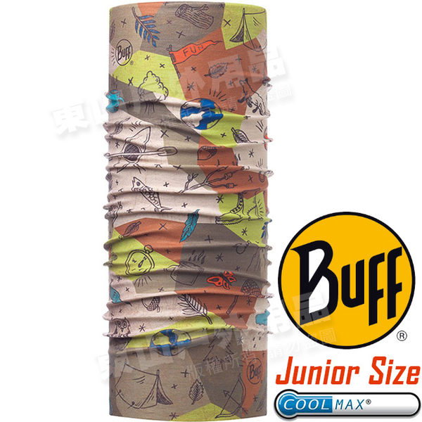 BUFF 117114.555 Junior UV Protection魔術頭巾 Coolmax防臭抗菌圍巾 東山戶外