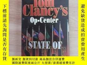 二手書博民逛書店英文書;罕見TOM CIANCY;S OP---CENTER.