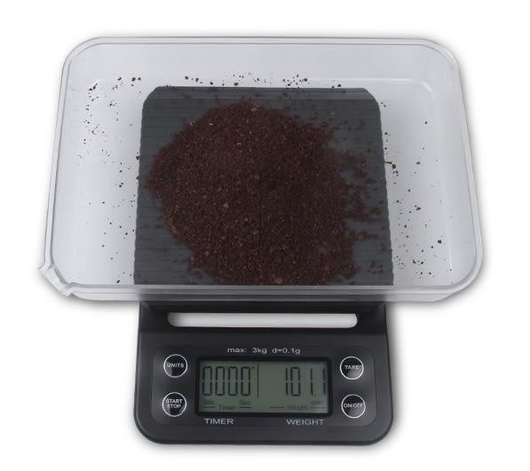 手沖咖啡專業秤 計時磅秤 咖啡秤 咖啡磅秤 黑咖啡 濾杯 計時電子秤 手沖入門 手沖秤 廚房秤E012