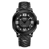 FENDI芬迪 Selleria 系列男裝機械腕錶 F820011011專屬獨立盒黑/42mm