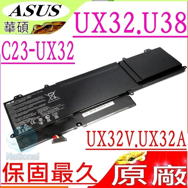 ASUS UX32 , U38 電池(原廠)-華碩 UX32, UX32V, UX32VD, UX32A, U38, U38N,U38K,U38DT,U38N-C4004, C23-UX32