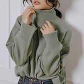 慵懶風糖果色毛衣女韓版中長款寬鬆套頭小清新學生甜美 9號潮人館