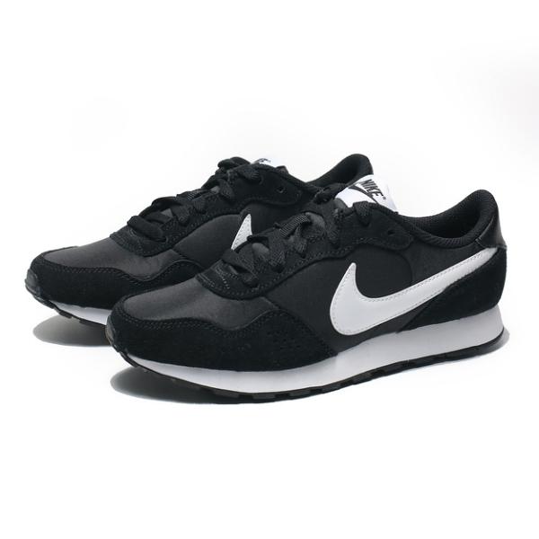 NIKE 休閒鞋 MD VALIANT GS 黑白 復古 麂皮 拼接 大童 女 (布魯克林) CN8558-002
