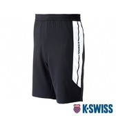 K-SWISS Woven Shorts 2運動短褲-男-黑
