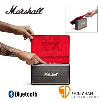 【缺貨】英國 Marshall Stockwell 攜帶式藍牙喇叭/含原廠皮套組(經典黑色Black