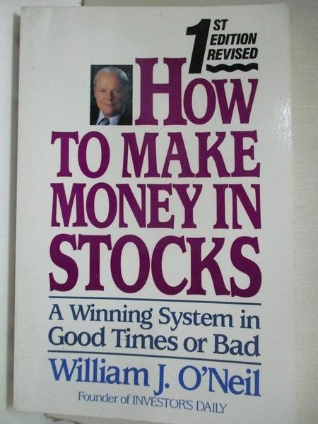 【書寶二手書T9/投資_DTD】How to Make Money in Stocks_William