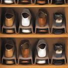 收納櫃  日本分層塑料鞋架雙層鞋子架雙倍收納架簡約創意鞋架鞋櫃 省空間    居優佳品igo