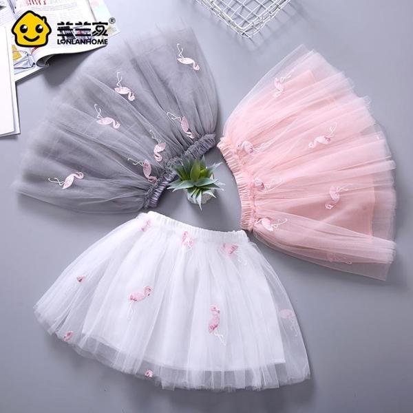 女童半身裙公主裙寶寶紗裙兒童蓬蓬裙2019童裝夏裝韓版洋氣短裙子