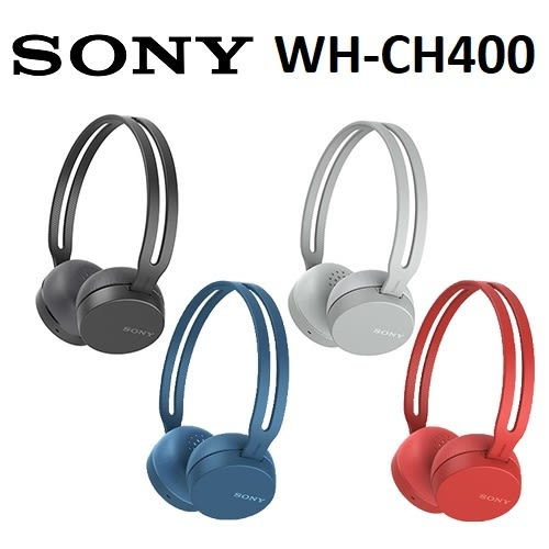 【免運費】SONY WH-CH400 無線藍芽 立體聲耳罩式耳機 (公司貨)