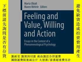二手書博民逛書店Feeling罕見And Value, Willing And