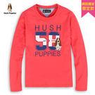Hush Puppies T恤 女裝58配色印花刺繡狗T恤
