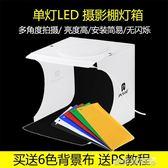 攝影棚配件 新款折疊便攜式LED迷你攝影棚 小型拍照攝影箱柔光箱拍產品箱 igo 玩趣3C