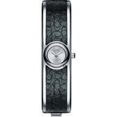COACH Scout 經典C字時尚手環錶-銀x黑/16mm CO14502620