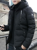 棉衣男士外套冬季2019新款工裝羽絨棉服帥氣加絨加厚棉襖潮流短款