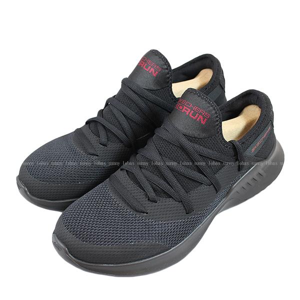 (B1) (送贈品) SKECHERS GO RUN MOJO2.0 全黑網 襪套式 男 休閒鞋 55123BBK [陽光樂活]