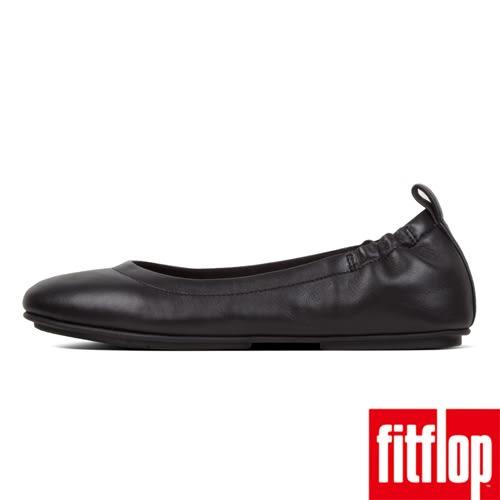 【FitFlop】ALLEGRO LEATHER BALLERINAS(黑色)