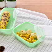 微波爐蒸籠帶蓋蒸盒加熱飯菜盒蒸饅頭包子餃子專用盒HPXW