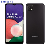 SAMSUNG三星 A22 5G 智慧型手機(4G/64G)-黑【愛買】