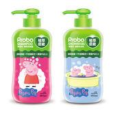 【快潔適】植萃低敏洗沐組650ml-佩佩豬 洗髮沐浴各1瓶新配方新升級