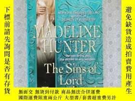 二手書博民逛書店36開英文原版罕見The Sins of Lord EasterbrookY281995 Madeline H