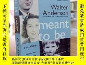 二手書博民逛書店WALTER罕見ANDERSON:Meant To Be(沃爾特
